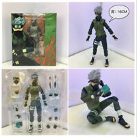 Anime Naruto Shippuden Hatake Kakashi Action Figure Movable Toy In Box 16cm