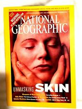 National Geographic November 2002 Skin/Gelada Monkeys