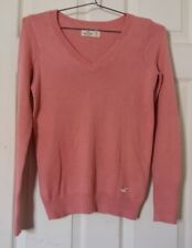 Hollister- Ladies Pink Long Sleeve Sweater - XS