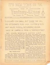FANTASY TIMES #232 - 1955 sci-fi fanzine - World SF Con report, Howard Browne