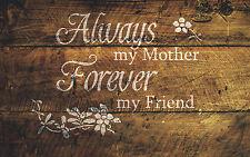 Mamá el dia de la madre de la plantilla pizarra Arte Pintura Aerógrafo Mylar A4 #MUM
