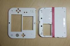 Nintendo 2DS White & Pink Case/Camera Lens/Stylus/Buttons FULL Housing