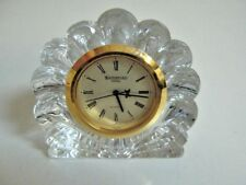 Waterford crystal Nocturne clock for parts