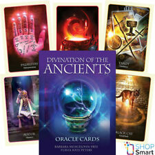 DIVINATION OF THE ANCIENTS ORACLE CARDS DECK ESOTERIC FORTUNE TELLING BLUE ANGEL