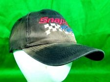Snap-On Tools Racing Hat Distressed Destroyed Discolored Snapback Cap