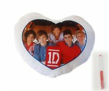 One Direction Small Autograph Pillow With Pen Brand New Gift