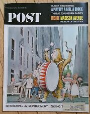 THE SATURDAY EVENING POST MARCH 13 1965 INSIDE MADISON AVENUE