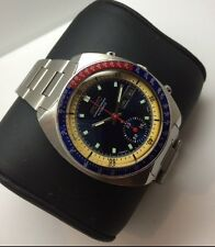 VINTAGE SEIKO PEPSI POGUE CHRONOGRAPH GENTS WATCH