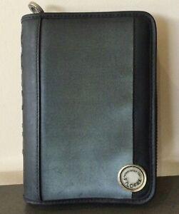 Filofax Cosmic Personal Pocket Organiser Rugged Zippers Six Rings No Inserts