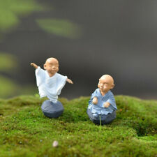 Garden Kung Fu Doll Toy Figurine Miniature Monk Figure Ornament
