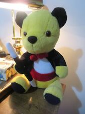 """LARGE SOOTY SEATED WITH WAND & JACKET,  12"""",  2008, so cute!"""