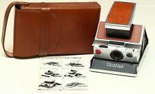 Polaroid SX-70 Instant Camera with Case - Excellent Condition!