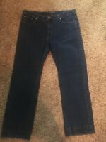 Women's CHAPS Dark Madden Straight Denim Jeans Size 16