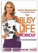 Debra Stephenson - The Busy Life Workout (DVD, 2005) New/Sealed
