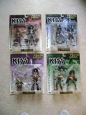 """KISS - Lot of 4 Psycho Circus figures / 8"""" McFarlane / Brand New (excellent)"""