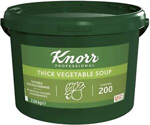 Knorr Professional Thick Vegetable Soup, 200 Portions (Makes 34 Litres)