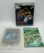 R-Type Video Game for Nintendo Game Boy NTSC-J BOXED TESTED