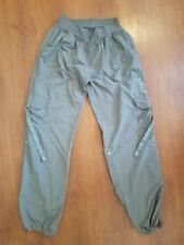 ZUMBA Wear Exercise Dance Cargo Pants Gray size Large