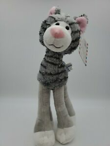 Melissa & Doug Lanky Legs Grey Cat New with Tag