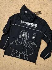 Primitive x Naruto Itachi Windbreaker Jacket size Medium