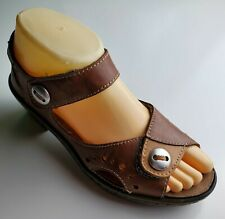 KLOGS Women's Brown Ankle Strap Heels Size 6