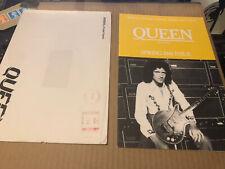 Queen Spring 1981 Original Fanclub Magazine + Flyer + Envelope