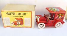 VINTAGE OLD RARE USSR NORMA TIN TOY HI-HI CIRKUS CAR BATTERY OPER.+ BOX