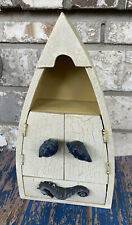 "10"" Boat Shelf Wooden Nautical Display Wall Shelf"