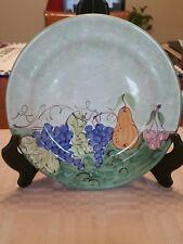 """ANTICA CIVILTA' ARTIGIANA"" Plate, for Arte D'Italia Imports Santa Barbara, Cal."