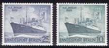 SELLOS BARCOS ALEMANIA BERLIN 1955 111/12 2v.