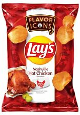 Lay's Potato Chips Party Fowl Inspired Nashville Hot Chicken Flavor Icons