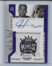 HASSAN WHITESIDE 2010-11 PANINI CONTENDERS ROOKIE TICKET AUTO LOGO PATCH RC #131