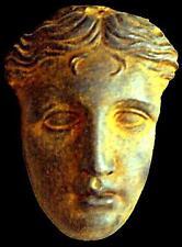 Greek Goddes Aphrodite Sculpture mask 25 cm statue fragment made in Sydney
