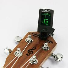 LCD Clip-On Guitar Tuner For Electronic Digital Chromatic B-ass Violin Ukulele