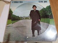 ELTON JOHN VINYL - A SINGLE MAN PICTURE DISC!  FREE UK P&P