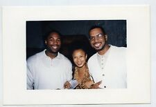 1990s Photo Luther Campbell 2 Live Crew  with boxer Lennox Lewis Boxing Miami Fl