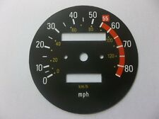 Yamaha XT500 1976 -1979  Replacement MPH Speedometer Speedo Face QUS1SF