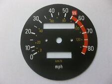 Yamaha XT500 1976 -1979  Replacement MPH Speedometer Speedo Face QUS1SF