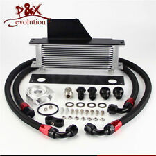 13 Row AN10 Racing Engine Oil Cooler Kit For 01-05 Subaru Impreza WRX/STi