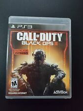 Call of Duty Black Ops III Sony Playstation 3 PS3 LN COMPLETE w black Ops 1 DLC