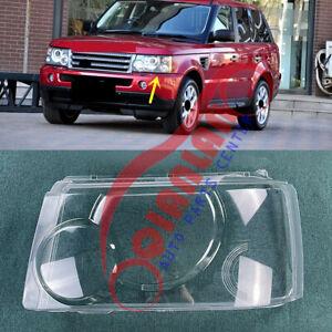 For Range Rover Sport 2006-2009 Left Side Headlight Lens Cover + Sealant Glue