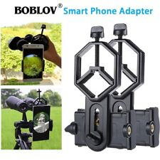 2xPCS Cell Phone Camera Mount Adapter Phone Bracket For Telescope Spotting Scope