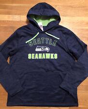 Seattle Seahawks Mens Hoodie Size XL Nwt Blue NFL Team Apparel