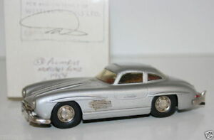 WESTERN MODELS MIKE STEPHENS 1st PROTOTYPE PLUMBIES 1954 MERCEDES BENZ GULLWING