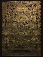 Rare Genuine MasterPiece Tibetan wheel of life thangka thanka Painting Buddha