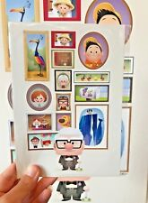 Disney Parks Pixar Fest UP A Life of Adventure 5x7 Postcard Jerrod Maruyama