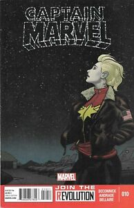 Captain Marvel #10 2013 DeConnick, Andrade & Bellaire