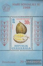 Indonesia block14 (complete.issue.) unmounted mint / never hinged 1968 Fruits