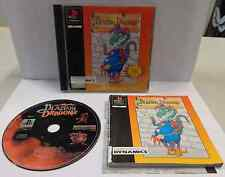 Console Game Gioco SONY Playstation PSOne PSX PS1 PAL - BLAZING DRAGONS Terry J.