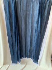 55� Beautiful Sheer Polyester Chiffon Denim Fabric pattern.